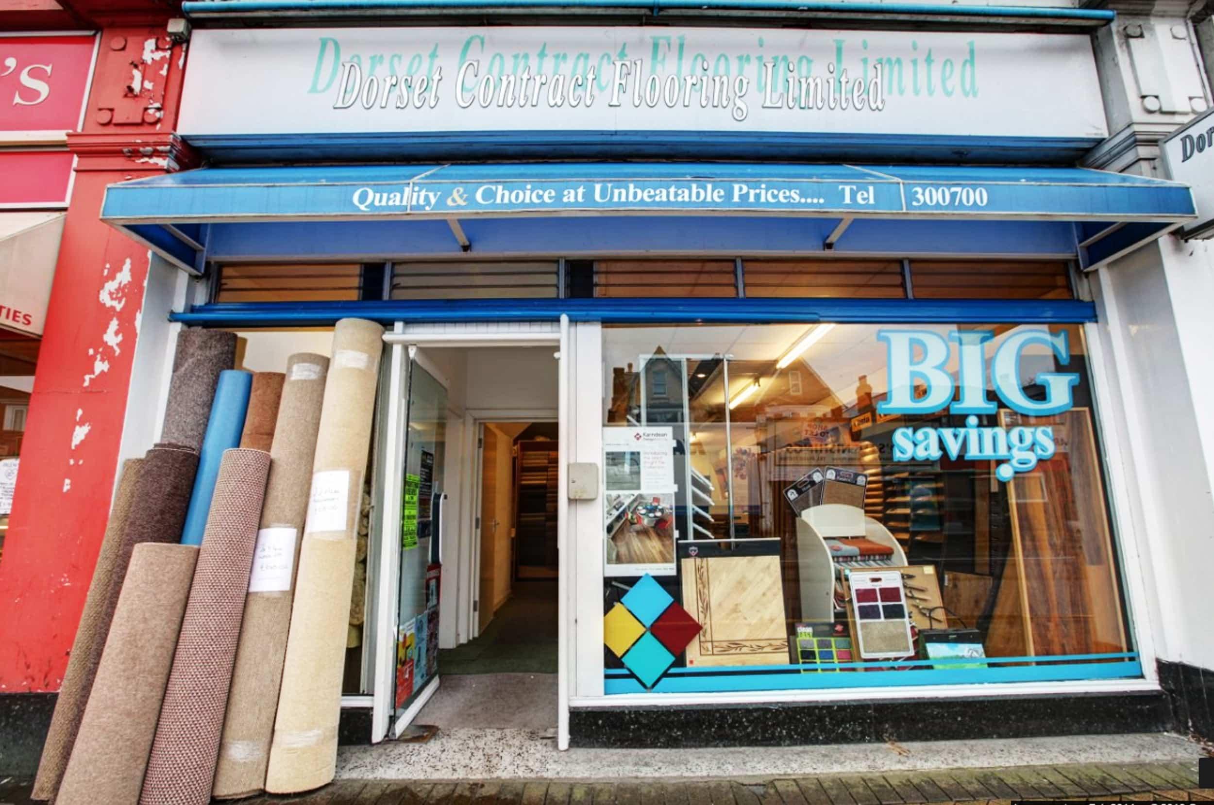 Dorset Flooring Bournemouth shop front